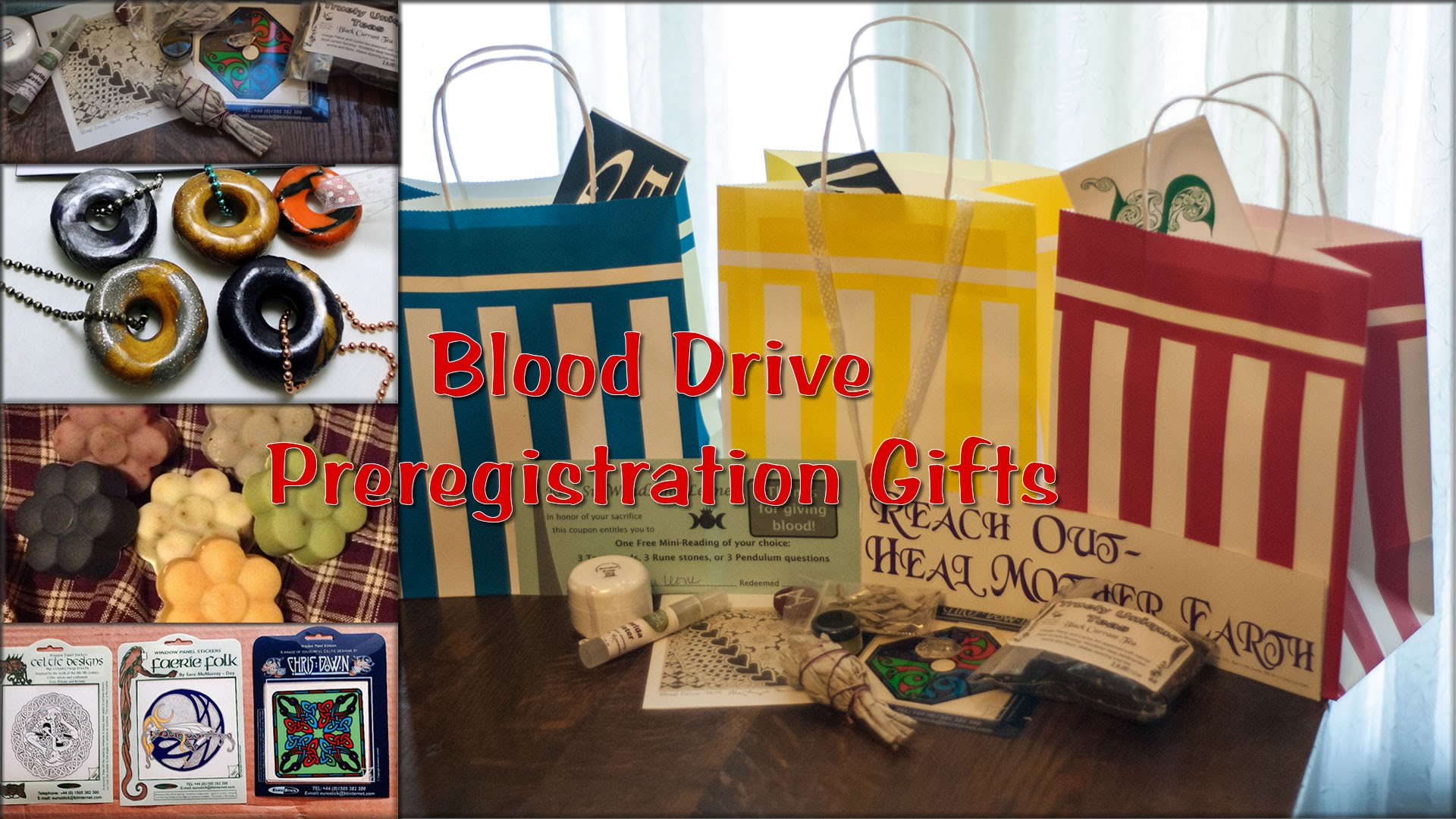 Blood Drive Preregistration Gifts